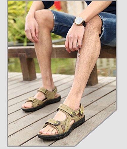 Herren Sandalen Strandschuhe Outdoor-Watschuhe Green