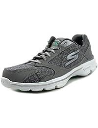 Skechers Go Walk 3-Statement Mujer US 5 Gris Zapatos para Caminar