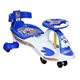 HARRY & HONEY BABY MAGIC CAR 7811 WHITE (WITH BACK SUPPORT)