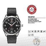 SWISS MILITARY-HANOWA Herren Analog Quarz Uhr mit Leder Armband 05-4287.04.007