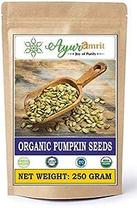 Ayuramrit Organics Pumpkin Seeds, 250 Grm