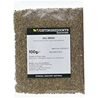 JustIngredients Essential Graines d'aneth (Dill Seeds) 100g