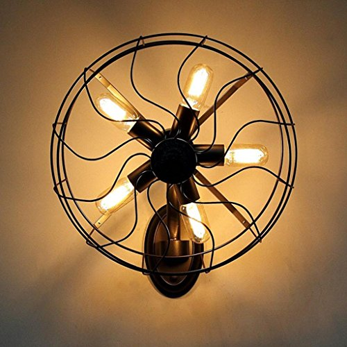GYR American Style Countryside Wall Lamps Living Room Aisle Creative Individuality Restaurant...