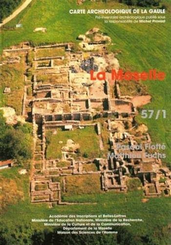 Carte archéologique de la Gaule : Moselle 57/1