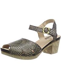 Chaussures Manitu noires femme