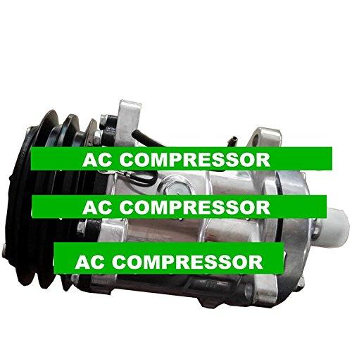 Gowe AC Kompressor für Sanden SD7H15Modell s8264AC Kompressor mit Kupplung 24V R134A Kompressor Pumpe r00885564310-01-557-5676 - Mit Kupplung Kompressor Ac