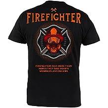 Rule Out Camiseta BOMBERO Ahorro MORE THAN homes. Corage sacrifice. honor. Gimnasio taining. sportswear. Fire brigade. informal.