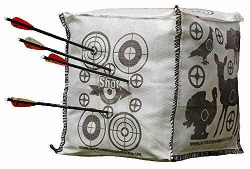Shot Stoppa Cube Sac de tir à l'arc avec cible pour arbalète