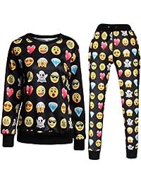 Women's Emoji 3D Sweatershirt Sweatpants Joggers Sportswear