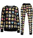 Emoji Joggers jogginganzug Sweater Sweatpants 3D Printed Pullover Sport Hose