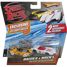 Mattel - M5985 - Véhicule - Speed Racer - 2 Véhicules - Racer X et Mach 5