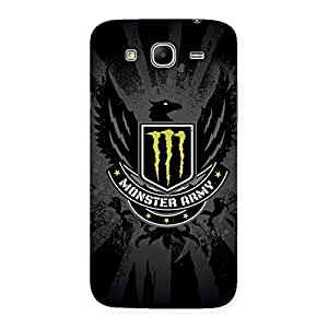 Delighted Army M Multicolor Back Case Cover for Galaxy Mega 5.8