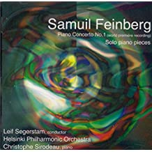Samuil Feinberg: Piano Concerto No. 1, and works for solo piano by Christophe Sirodeau (piano) (2008-05-06)