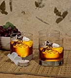 Famacart Tableware Serving Glasses Wine Whisky Rock Glass Pack of 6 Pcs