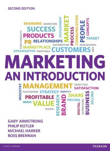 Marketing: An Introduction by Gary Armstrong (2012-07-12)