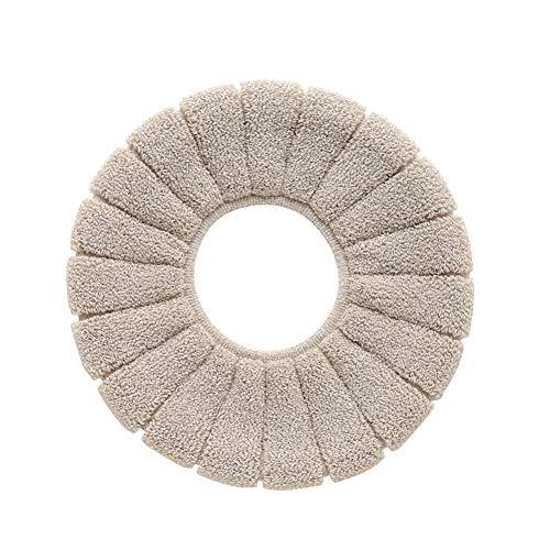Zycx123 copriwater igienici ispessita cuscino rotondo tipo toilet seat pad copertura universale per il bagno
