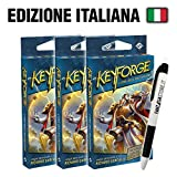 Bundle 3x Keyforge - Mazzo Era dell'Ascensione (IT) + Penna Fantàsia!