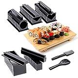 Kit de préparation à Sushi à la maison, Coffret Complet 10 pièces comprenant 5...