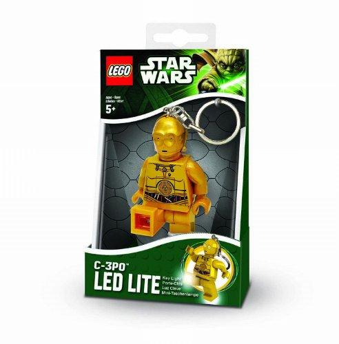 Preisvergleich Produktbild IQ Hong Kong UT20391E - Lego Star Wars - C3PO Minitaschenlampe Blister