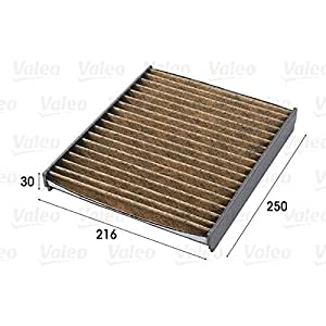 Valeo 701009 Filtre, air de l'habitacle