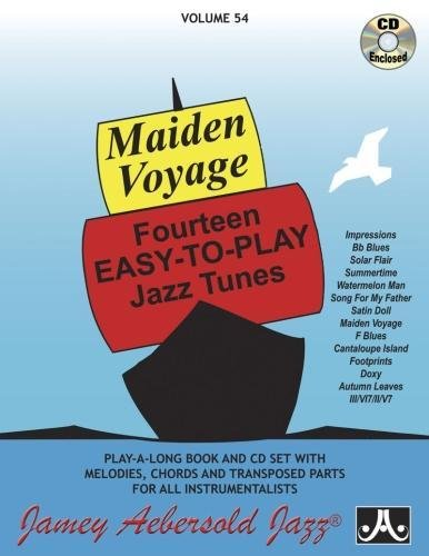 Maiden Voyage, Volume 54 (Play- A-long, Volume 54) por Jamey Aebersold