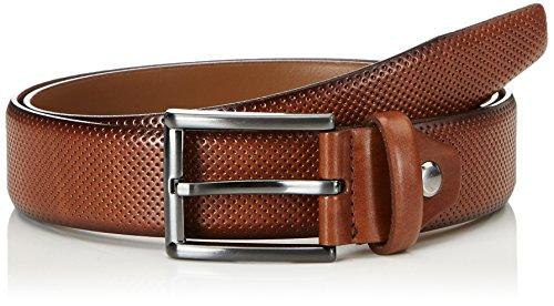 MLT Belts & Accessoires Herren Gürtel Dublin, Braun (Cognac 6700), 90