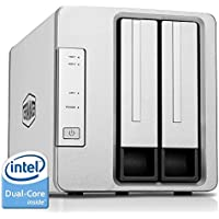 TerraMaster F2-220 NAS Drive 2-Bay Intel Dual Core 2.41GHz 2GB