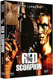 Red Scorpion [Blu-Ray+DVD] - uncut - Mediabook Cover D