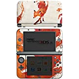 Nintendo New 3DS XL Case Skin Sticker aus Vinyl-Folie Aufkleber Fuchs Vulpes Art