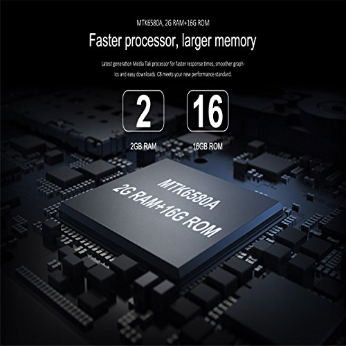 BelievE OUKITEL C8 5 5 pulgadas HD Smart Phone  2 GB RAM   16 GB ROM 3000mAh Android 7 0 tel  fono m  vil  oro