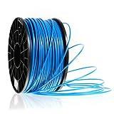 Kaisertech Filament für 3D Drucker 1kg PLA / ABS 1.75mm / 3mm - Premium Qualität & verschiedene Farben (PLA 3.00mm, Blau)