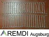 Remdi Augsburg Schneeketten 21x11.00-8 (21 x 11.00-8) Profi Ausführung Gliederstärke 4,5mm