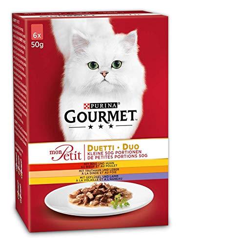 Purina GOURMET Mon Petit Katzenfutter Duetti Fleisch -
