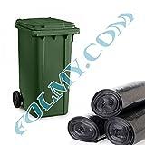 50 Müllsäcke zum Auskleiden von Mülltonnen. 240 Liter. 40µ. Abfallsäcke.