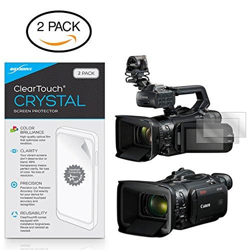 BoxWave Canon XF400Displayschutzfolie, [ClearTouch Crystal] HD Film Haut-Shields vor Kratzern für Canon XF400 -