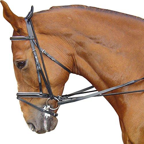 Harry\'s Horse 28400085-05 Halsverlängerer, elastisch, schwarz