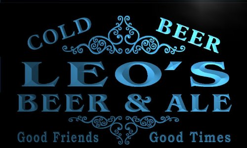 qs168-b-leos-beer-ale-vintage-design-bar-decor-neon-light-sign
