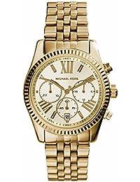 Michael Kors MK5556 - Reloj de cuarzo con correa de acero inoxidable para mujer, color dorado