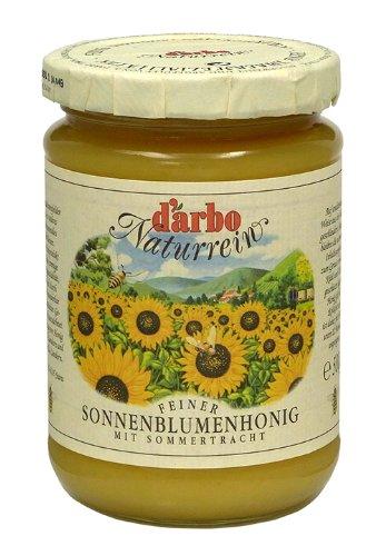 Darbo Naturrein - Sonnenblumenhonig - cremig - 500 g
