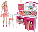 Best Barbie Play Kitchens - Mattel T8014 Barbie Stovetop To Tabletop Deluxe Kitchen Review