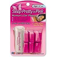 Gehörschutz Ohrstöpsel für die Frau zum Schlafen - Sleep pretty in Pink 14 Stück mit Aufbewahrungsbox preisvergleich bei billige-tabletten.eu