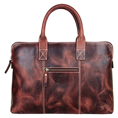 - 51f8NM3qdbL - Rustic Town Leather Briefcase Leather Messenger Bag Business Shoulder Bag Slim Work  - 51f8NM3qdbL - Deal Bags