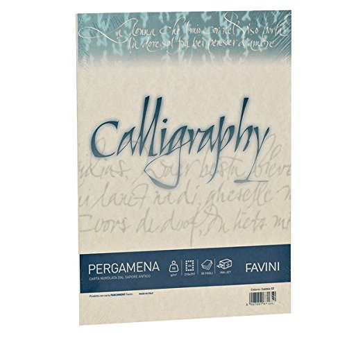 Favini a69u084 calligraphy pergamena liscio
