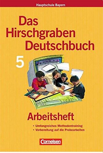 Das Hirschgraben Deutschbuch - Mittelschule Bayern / 5. Jahrgangsstufe - Arbeitsheft mit Lösungen, 2. Auflage 3. Dr.