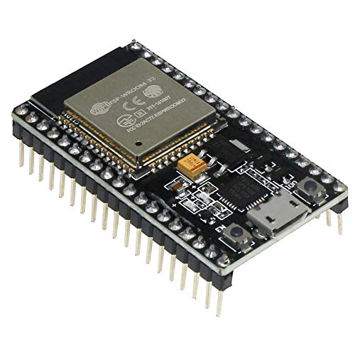 KeeYees ESP32 ESP-32S NodeMCU Modul 2.4 GHz WLAN WiFi + Bluetooth 2-In-1 Development Board Mikrocontroller ESP-WROOM-32 Chip CP2102 für Arduino -