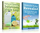 Natural Cleaning Solutions: / Minimalist Budget Revealed - (2 Book Boxed Set) Discover How To Clean Your House Using Safe And Eco-Friendly Green Natural Solutions (English Edition)