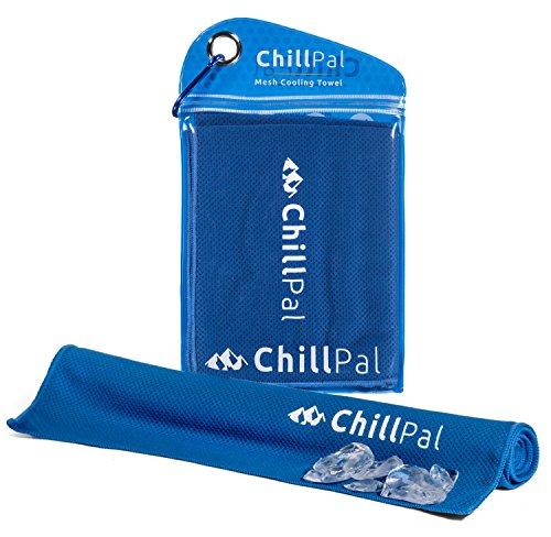 Red Skulls Snap (Chill Pal Mesh Kühlendes Handtuch - Kühlung Handtuch - Mikrofaser blau)