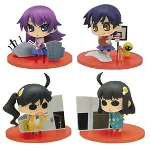 Bakemonogatari Vignetteum Cute Figuren: Komplett-Set (4 Figuren) 6 cm