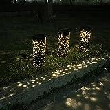 LEDMOMO Solargarten-Lichtweg-Beleuchtungs-im Freiensicherheits-Beleuchtungs-Decking-Patio, der wasserdichte LED-Landschaftsbeleuchtung beleuchtet