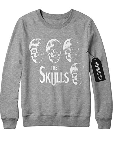 Sweatshirt THe SKULLS Beatles Parody H549332 Grau M (Paul Sgt Pepper Kostüm)
